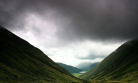 Clouds over Kirkstone Pass