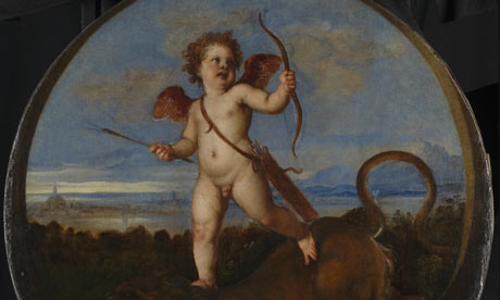 Titian triumph of Love