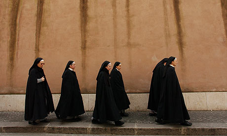 Nuns in the Vatican City