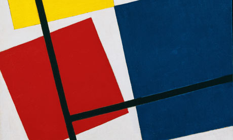 detail of Simultaneous Counter-Composition 1929-30