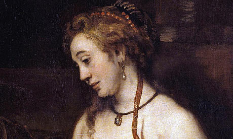 Bathsheba with David's Letter by Rembrandt van Rijn