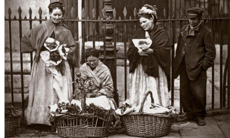 Genealogy Covent Garden Flower Sellers