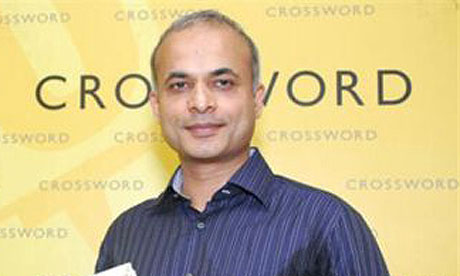 Manu Joseph, winner of the Hindu Best Fiction award 2010 for Serious Men.