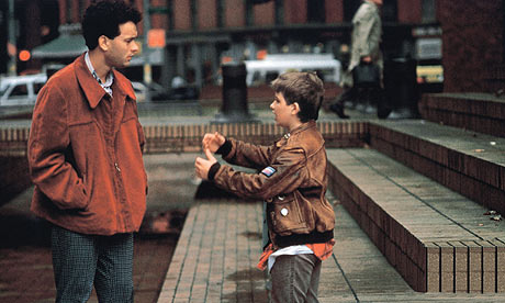 pictures of tom hanks children. Tom Hanks and Jared Rushton in