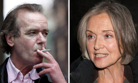 Martin Amis and Anna Ford