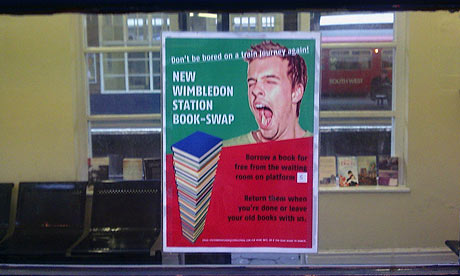 Bookswapping on South West Trains