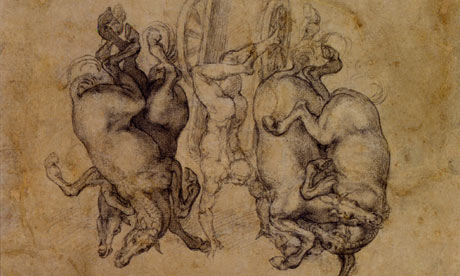 Michelangelo and the mastery of drawing | Art and design ...