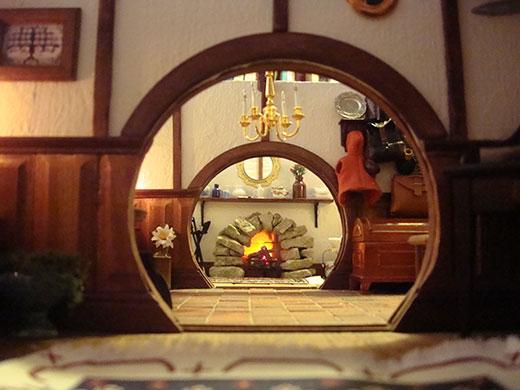 Down The Hobbit Hole Inside A Miniature Bag End Books