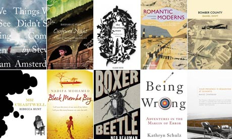 Guardian first book award longlist