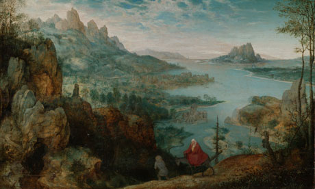Landscape with the Flight into Egypt, 1563, by Pieter Bruegel the Elder