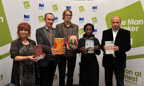 2011 Man Booker Prize for Fiction - Shortlist and Winner Photocalls