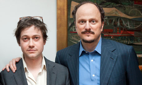 Adam Thirlwell (left) and Jeffrey Eugenides
