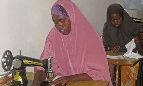 Sanitary Pads change Somali Girls' Lives