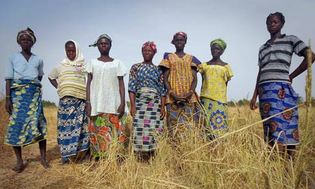 Women in Burkina Faso