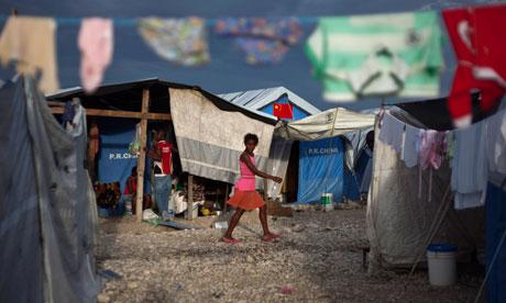 Caradeux Camp haiti