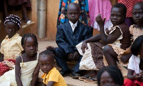 Southern Sudanese children