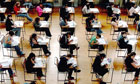 Exams black pupils