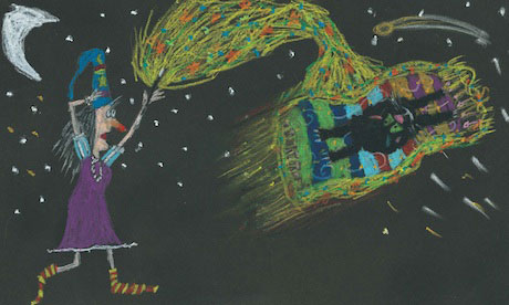 Winnie the Witch endpaper