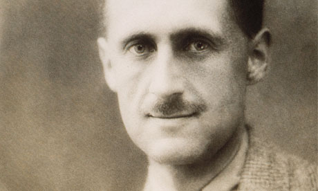 The writer and journalist George Orwell