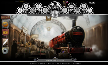 Pottermore: A first look inside Harry Potter's digital world ...