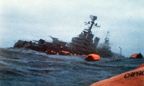 The General Belgrano sinks