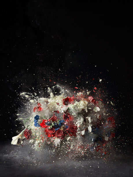 Ori Gersht's <em><br /><br /><br /><br /><br /><br /><br /><br /><br /> Blow-Up- Untitled 5</em>, (2007)