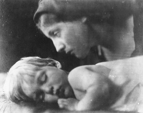 My Grandchild by Julia Margaret Cameron.