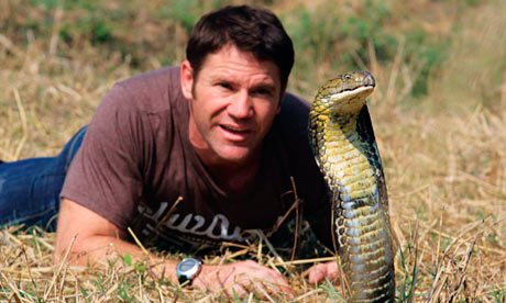 Steve Backshall, author of Deadly Diaries and Tiger Wars