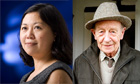 Yiyun Li (left) and William Trevor