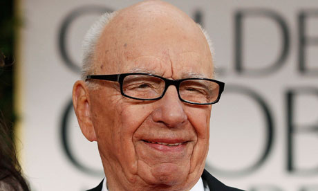 CEO of News Corporation, Rupert Murdoch