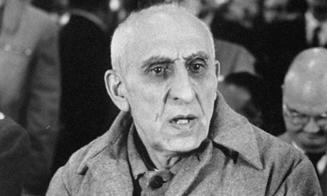 Mohammed Mossadegh in court after the 1953 coup. Photograph: Carl Mydans/Time & Life Pictures/Getty Image