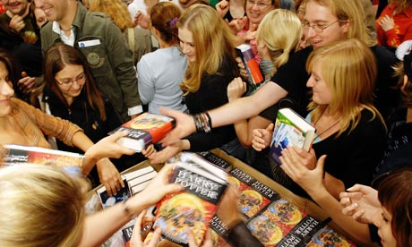 Harry Potter fans scramble to get a copy of the latest Harry Potter book