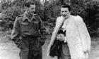 Elvira Chaudoir (codename 'Bronx') with MI5 officer William Luke, in 1944