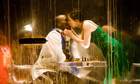 Miranda (Emily Taaffe) kisses Ferdinand (Solomon Israel) in the RSC's forthcoming The Tempest