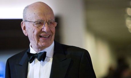Rupert Murdoch, chairman and CEO of News Corporation