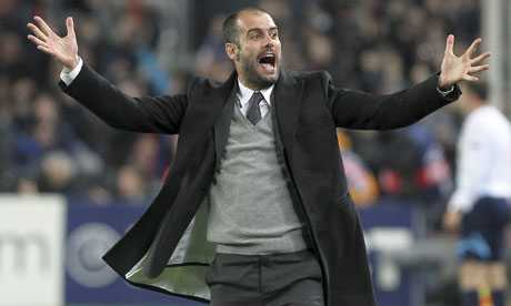 Pep Guardiola, the former Barcelona coach