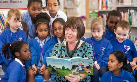 Children's laureate, Julia Donaldson, launches the 2012 Summer Reading Challenge