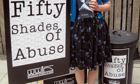 Fift Shades of Grey abuse campaigners