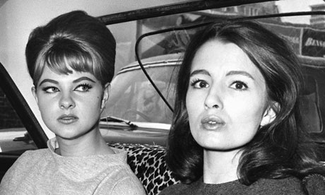 Christine Keeler, right, and Mandy Rice-Davies