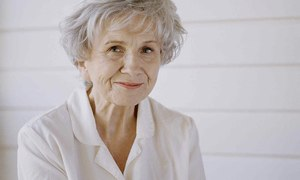 The writer Alice Munro