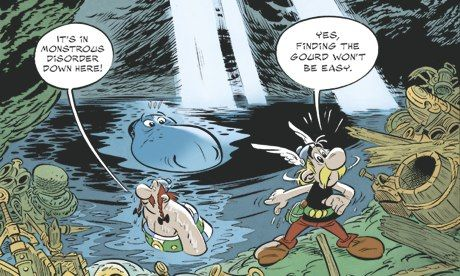 A Scottish iron-age expert's view on Asterix and the Picts