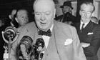 Winston Churchill in 1954