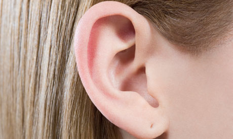 Woman's ear