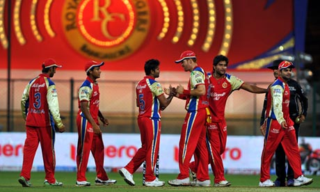 Cricket: Bangalore Royal Challengers v Delhi Daredevils - IPL 2012
