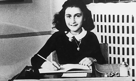 'Pornographic' writing? … Anne Frank.