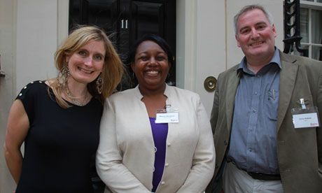 Cressida Cowell, Malorie Blackman and Chris Riddell