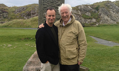 O'Hagan and Heaney on the island of Iona