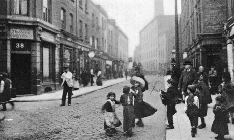 Brick Lane, Whitechapel, in 1907