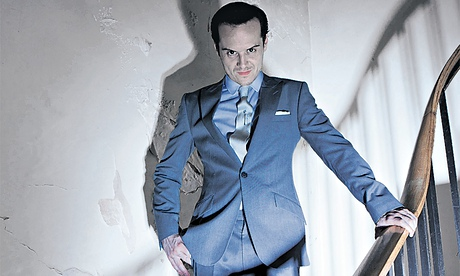 Criminal mastermind… Andrew Scott as Moriarty in BBC1 series <em>Sherlock</em>.