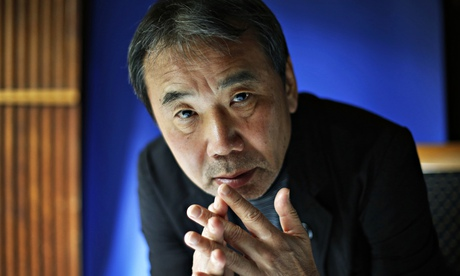 Haruki Murakami at the Edinburgh international books festival in August.